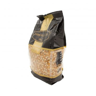 angled side picture of zain products popcorn